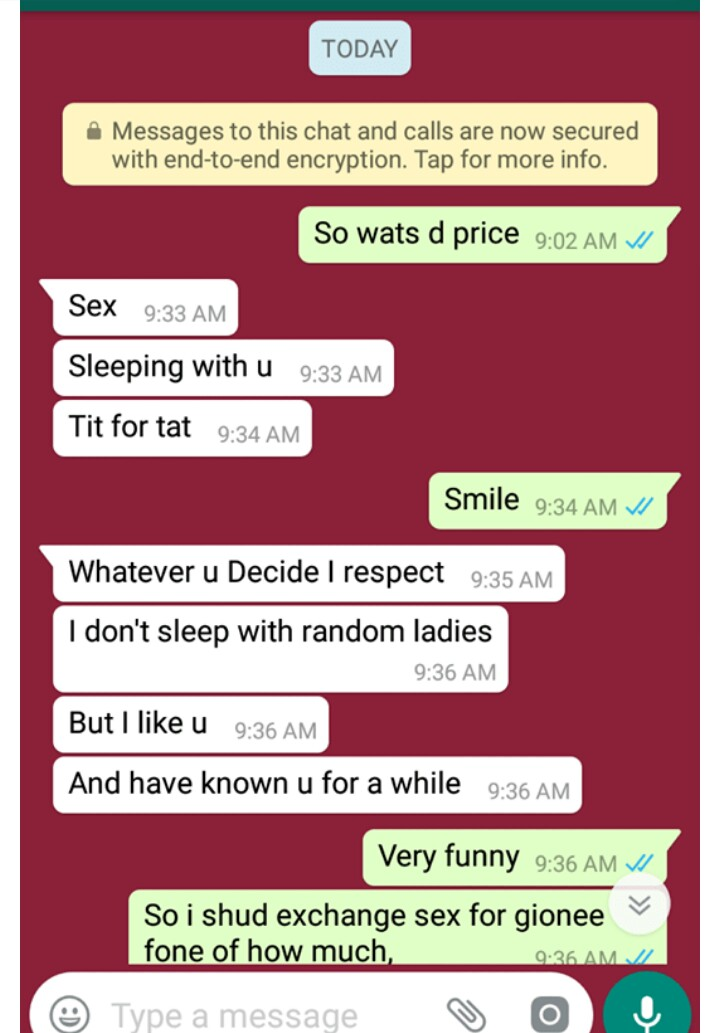 how to sex chat a lady