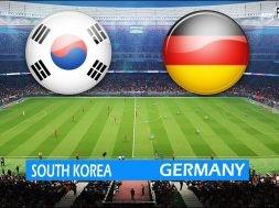 South Korea Vs Germany (Full Time)