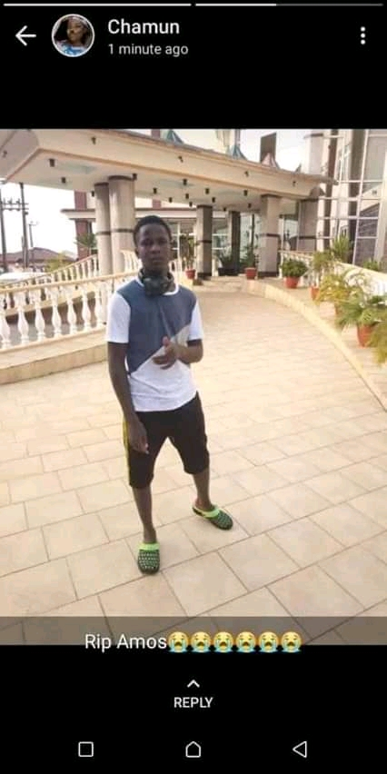 See The Photo Of The Boy That Took Sniper After Failing JAMB This Year