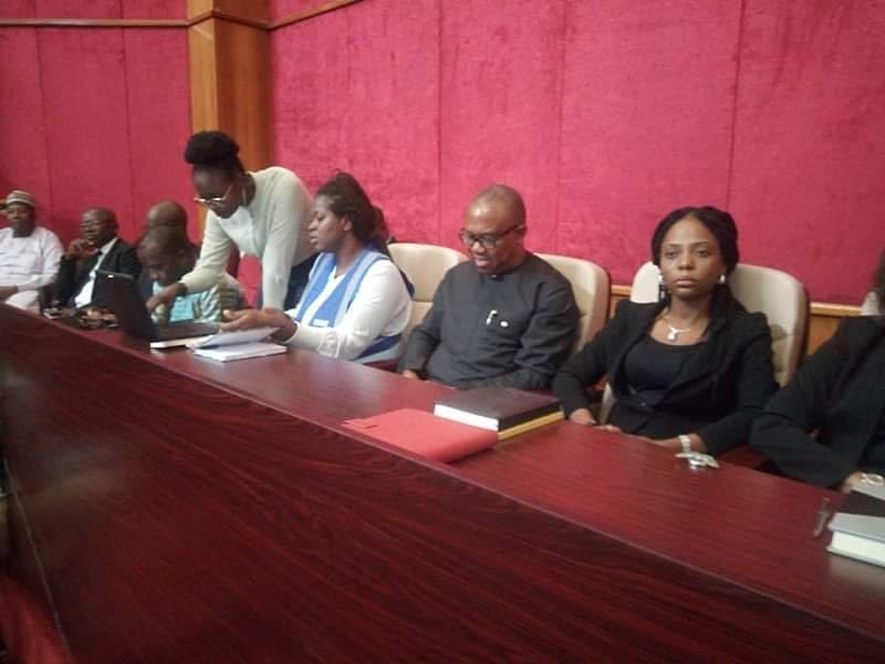 Check Out More Photos Of Peter Obi In Court Yesterday