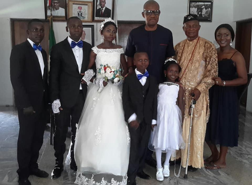 Sapele Schoolgirl, Success' Parents Finally Get Married (Photos)