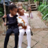 "Super Eagles captain, Mikel Obi shares cute photo of his beautiful twin daughters, Ava and Mia. Gistvic Reports. He captioned: ""My cutest ballerina's ❤️❤️"""