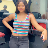 Actress Regina Daniels Shows Off New Arm Tattoo In A Style (Photos)