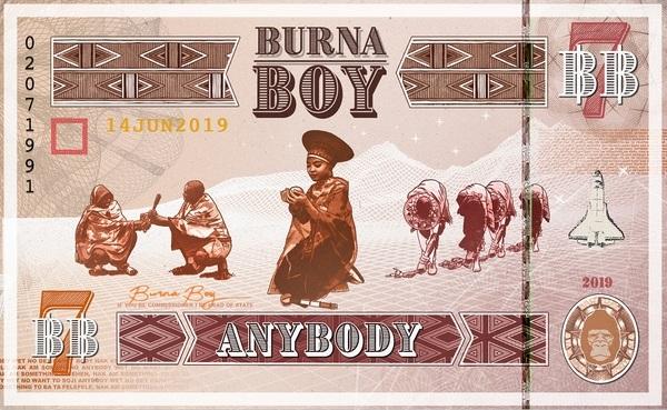Download Music Mp3:- Burna Boy – Anybody