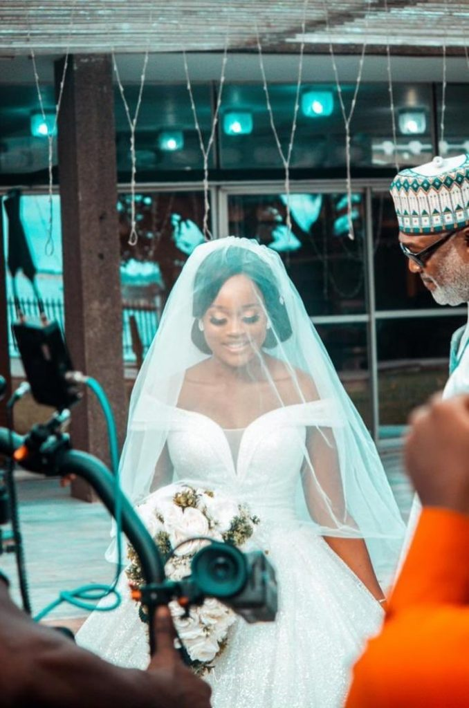 Ex-BBNaija housemate, Cee C stuns as she gets dressed as a bride on set which have got fans reacting. Gistvic Reports. Fans found her so beautiful and counting the man who will marry her as a lucky man.