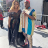 Nigerian singer, Teni who was nominated for Bet Awards 2019 strikes a poses with curvy Ghanian actress, Moesha Boduong.