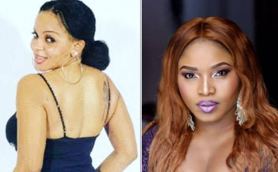 Nollywood actress, Cossy Ojiakor is still going hard on 'exposing' the kind of person she claims her former friend and colleague Halima Abubakar is.  The busty actress has once again slammed Halima, accusing her of sleeping with her friend's husband for movie roles.  She said this in a comment she dropped on actress Uche Elendu's birthday post to Halima.