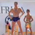 Cristiano Ronaldo took the opportunity to show off his physique while holidaying in the south of France with his family, as his son Cristiano Jr attempted to copy the Portuguese. The Juventus star was in a playful mood as he enjoyed his holiday on his yacht, making the most of his time away from football before returning for pre-season. His girlfriend Georgina Rodriguez could be spotted watching on as the boys played around on deck before jumping on a Jet Ski. The 34-year-old and his son, now eight, shot across the water on the craft in the south of France as the footballer unwinds after a long season.