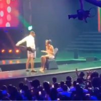 TheFalzExperience2: Falz Removes His Trouser, Rocks Lady On Stage At His Concert