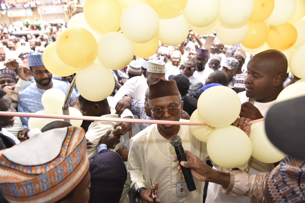 Governor Nasir Ahmad declared open the Kaduna branch of Mudassir & Brothers Department Store, one of the largest retail stores in Kano. The Kaduna State Government will continue to support private investors to drive economic growth in the state.