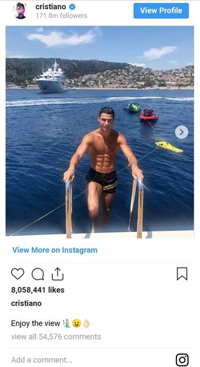 Check Out How Cristiano Ronaldo's N3.6 Million Per Night Holiday Villa In Greece
