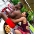 American comedian/actor, Kevin Hart's wife Eniko Hart shared these lovely photos of them posing together during their vacation in Thailand.