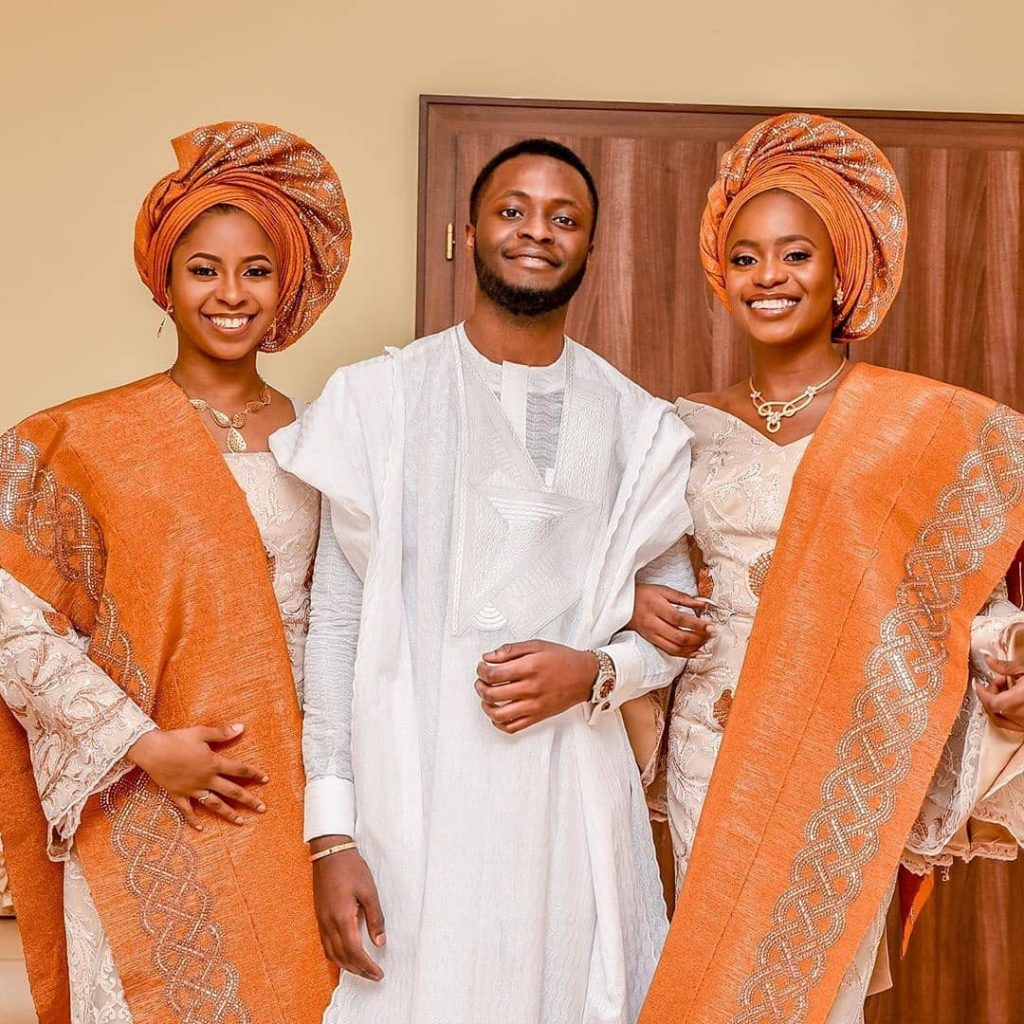 The Vice President's children, Damilola, Kiki and Fiyin, pictured as they prepared for the Democracy day celebration which held in Abuja yesterday June 12th.