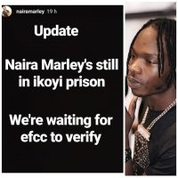 Naira Marley's Management Gives Update On Why He Is Still In Ikoyi Prison