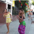 Heavily Pregnant Korra Obidi Dean Spotted Dancing On The Street Of California With Her Baby Bump, Two Gay Men Spotted In The Video Walking Past Got Nigerians + Baby Shower Pictures