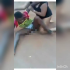 Why do some ladies fight in public? No Shame, no home training or what? Here is a viral but shameful video of two females – an big lady and a young girl, fighting in public to the extent of exposing their vital private parts to the onlookers. They fought, wrestled on the ground, exposing their panties and womanhood. The cause of the fight cannot be ascertained. But people, men, okada riders were there watching as unclothedness, nobody cared to separate them. What a shame!