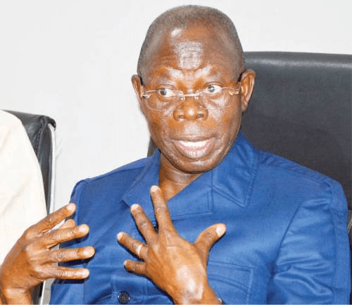 PORT HARCOURT – RIVERS Unity House, RUH, an All Progressives Congress, APC, interest group in the state has joined growing calls for removal of Adams Oshiomhole as National Chairman of the APC.