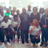 The Super Falcons of Nigeria are back in the country after being knocked out of the FIFA Woman's World Cup in France some days ago. They arrived in Abuja yesterday's evening.