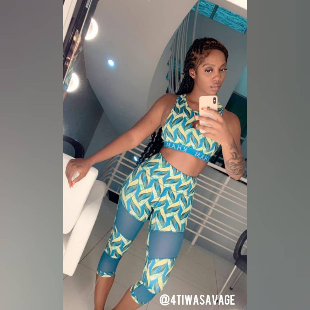 Tiwa Savage Looking Really Sexy In Joggers