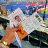"""The Nigerian Actress, Tonto Dike already at the stadium to watch the Africa's Cup of Nation, in her post showing her ticket, she wished the Nigerian players (Super Eagles) a success in their matches. """"Wishing the Super Eagles a Huge success!!We Cheering you to success today,WELDONE OUR MEN THEM"""""""
