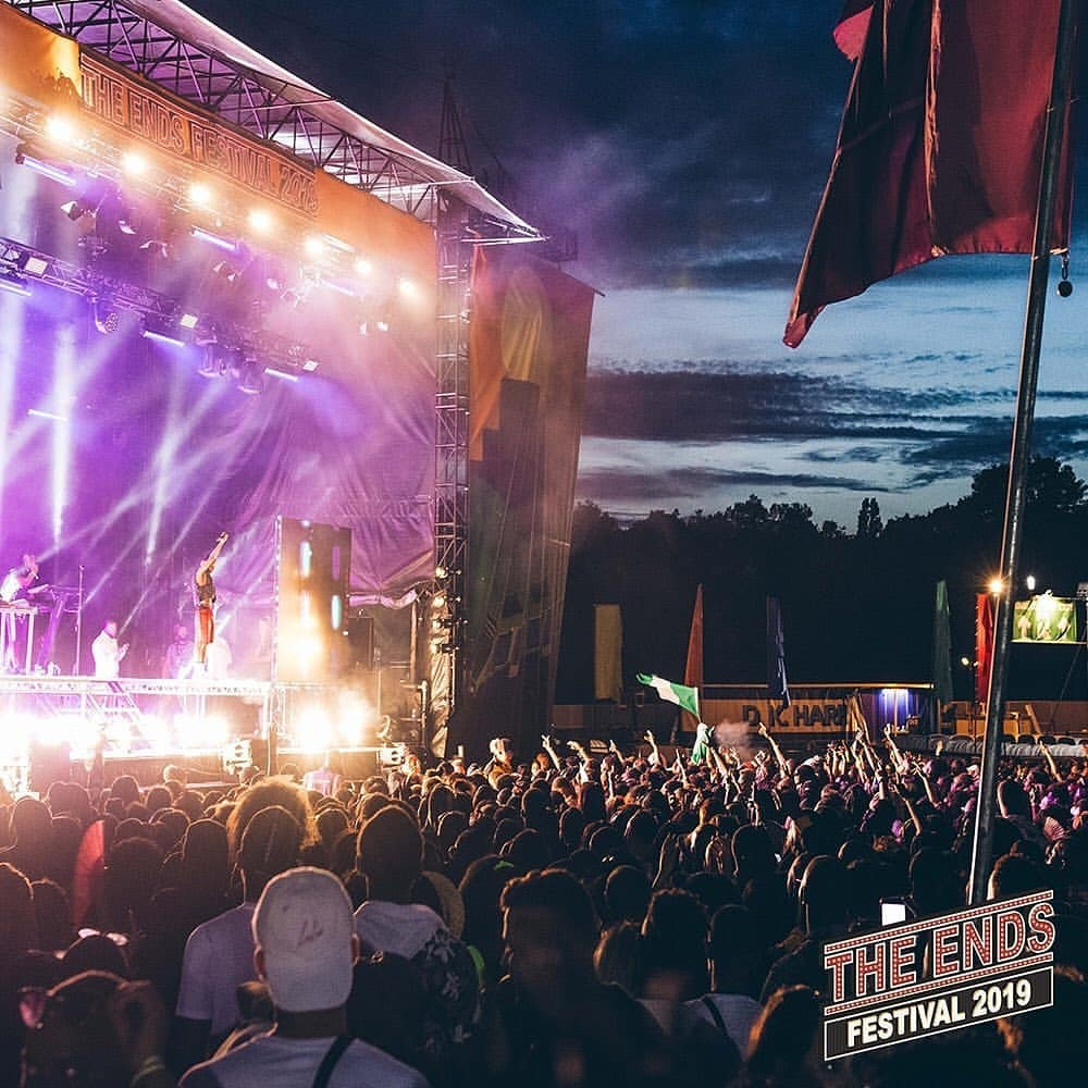 The Ends Festival that take place inside south London's Lloyd Park, inviting 15,000 music lovers each day to revel in its lineup that includes hip-hop, reggae and more.