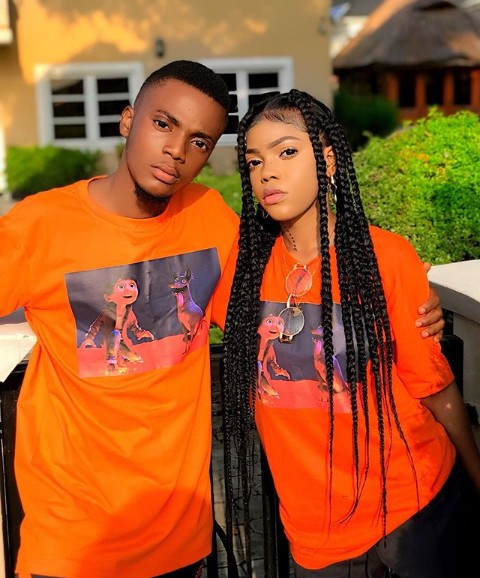 """Popular Nigerian rapper """"Yung6ix"""" took to his verified Instagram account to wish his Younger Sister a Happy Birthday, meanwhile ignoring the other twin brother. Seems like he is in enmity with his Younger brother."""