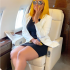 "The wife of Billionaire Mrs Regina Daniels Nwoko shares new pictures and video as she slays in her husband private jet. The actress Regina Daniels is not disturb despite her husband Ned Nwoko loosing his senate seat. The Nollywood Actress shares pictures of her busy day on Wednesday , in her post she wrote ""A simple girl with zero worries""."
