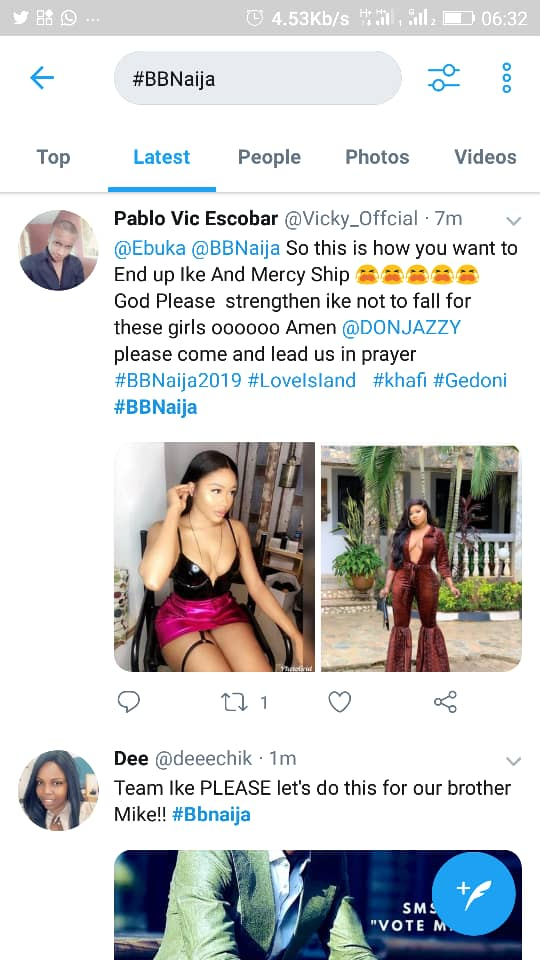 According to reports, Biggie will be bringing in two new housemates today @berbiedoll and @cy4luv212 on IG.One already added the #Bbnaija link on her bioRecall that Host, Ebuka already announced that there would be a twist in the house come 7pm today.