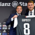 Wales and former Arsenal midfielder, Aaron Ramsey has been unveiled as a Juventus player. The 28-year-old Welshman was officially unveiled by the Italian champions in Turin and was handed the No 8 shirt worn by Claudio Marchisio, Antonio Conte and Didier Deschamps.