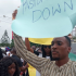 Famous Nigerian actor who is also a member of COZA Akah Nnani has joined the protests against Pastor Biodun Fatoyinbo over his alleged molestation of Busola Dakolo.