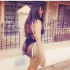 Actress Angela Okorie Rocks Swimwear, Fights With Trolls Online (Photos) Beautiful actress Angela Okorie who describes herself as shameless, rocks sexy swimwear at the pool side.