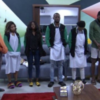 Barely a day after Tuoyo left the Big Brother Naija House, all housemates have been put up for possible eviction this week. Asides putting up the whole housemates for possible eviction this week after reminding them of house rules they've broken, Khafi's veto power of saving and replacing was also canceled by Biggie.
