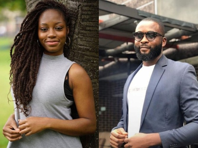 The two love birds in the Big Brother Naija house, Gedoni and Khafi finally brought out the first real controversial 'Pepper' this season, which got Nigerians really talking.