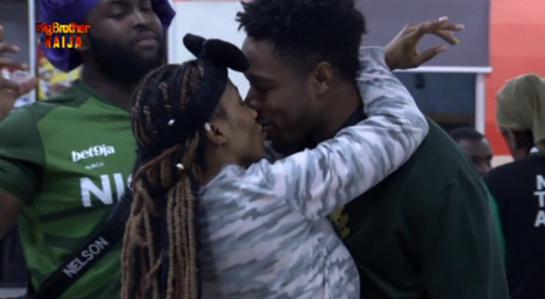 Yesterday, Big Brother housemate, Ike turned 27 and was specially celebrated by his fellow housemate and lover, Mercy, who promised to kiss him 27 times.  At one point, the pair who are regarded as one of the sweetest couples in the reality show were filmed kissing in the front of other housemates.  In her birthday speech to Ike, Mercy said: ' I can be a bitch, but you have 'resetted' my brain, You quenched my fire.  'You changed my whole game plan and you have made me a better person.'