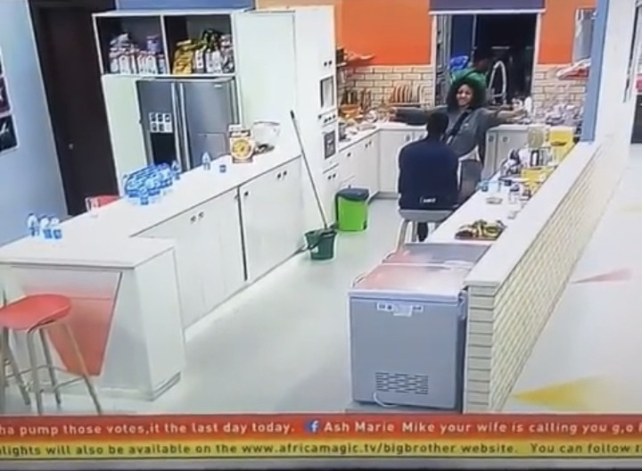 Moment #BBNaija Tacha Become Really Friendly As She Hugs Mike This is sweet… #Tacha has become really friendly since she came back into the house.