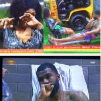 BBNaija 2019:- Tacha In Tears As She Settled Differences With Mike After the entertainment by the other Housemates, Tacha straightened things out between herself and Mike. For almost an hour, both Housemates took turns to explain how each one has misunderstood the other.