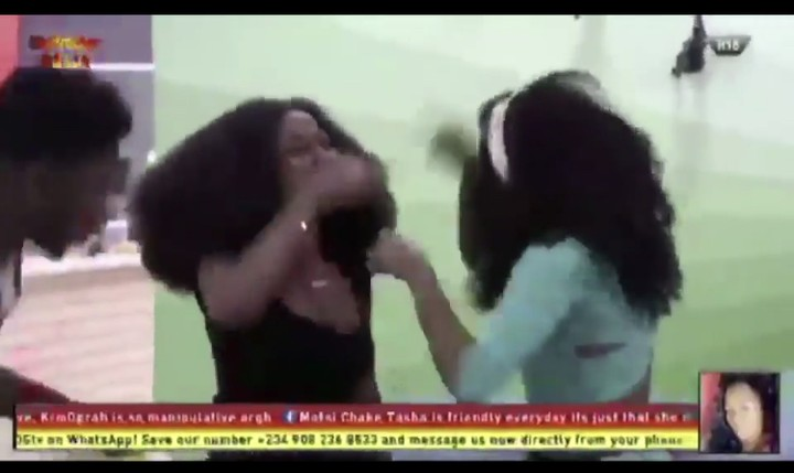 BBNaija 2019:- Thelma And Esther Fight Over Calling People With Down Syndrome 'Imbeciles'   Drama never cease to end in the ongoing big BBNaija season 4, as another fight erupts between Thelma and Esther, over calling people with Down syndrome 'imbeciles'.