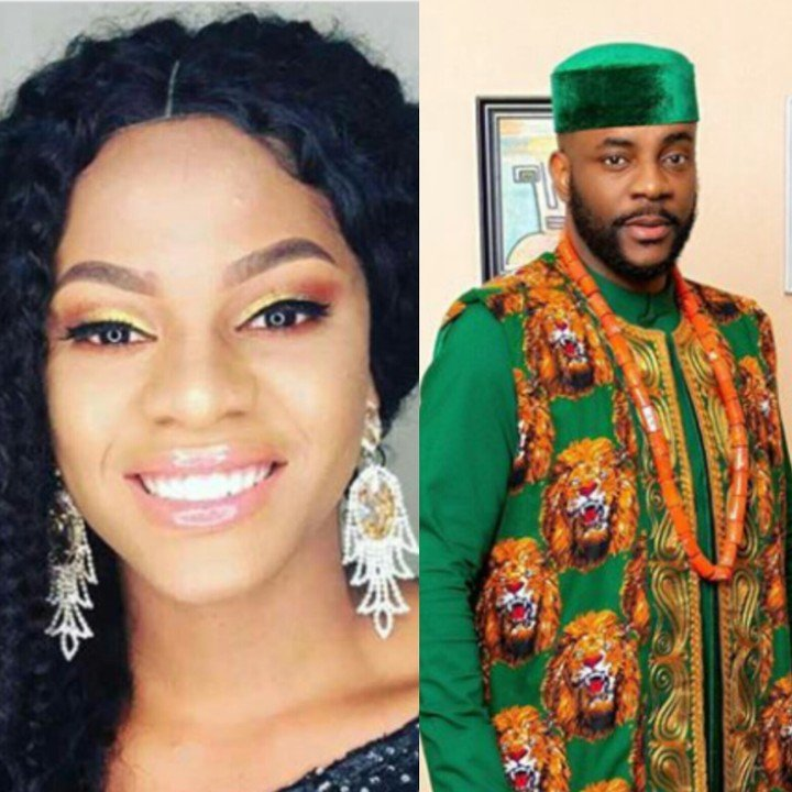 Big Brother Naija 2019 housemate, Jackye's boyfriend, Lami has called out BBN host Ebuka for putting his girlfriend on the spot over a conversation she had with a fellow housemate, Khafi, accusing Tacha of 'witchcraft' .