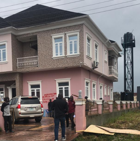 Over three hundred residents/families of Victory Park Estate sitting on about thirty-three Hectares of land located in Osapa London along LekkiEpe Expressway have cried out to President Buhari and all authorities concerned following the seizure of the estate by the Asset Management Corporation of Nigeria (AMCON)