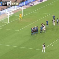 Juventus have won their first match in the International Champions Cup thanks to Cristiano Ronaldo's stunning free-kick equaliser before they needed penalties to see off rivals Inter Milan in China, MySportDab reports. Just 10 minutes into his first start for the club, Matthijs de Ligt turned the ball into his own net from a corner as Inter Milan took an early lead. Juve boss made several changes at half-time but it was Cristiano Ronaldo who made the difference as the Portuguese star equalised with a stunning free-kick. After being fouled on the edge of the box, Ronaldo then dusted himself off before firinghis free-kick into the Inter goal.