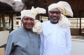 Aliko Dangote and Femi Otedola, Nigerian billionaires, have promised the Super Eagles $75,000 for every goal scored in their remaining games at the ongoing Africa Cup of Nations. Dangote has promised $50,000 per goal, while Otedola pledged the sum of $25,000 for each goal scored by the Eagles. Earlier in the group stage of the 2019 AFCON, Aiteo group, one of the official sponsor of the senior men national team gave the Eagles $75,000 for the three goals scored in their 3-2 victory over Cameroon in the Round of 16. Hosea Wells Okunbo, a businessman, also pledged the sum of $20,000 per player, while Babajide Sanwo-Olu, Lagos state governor, rewarded the team with $5,000 per player. The Gernot Rohr's men defeated Bafana Bafana of South Africa 2-1 to qualify for the semifinals on Wednesday night at the Cairo International stadium. The Super Eagles will take on the winner between Algeria and Cote D'Ivoire in the semi final game. Femi Otedola recently donated $50,000 to Christian Chukwu, former Super Eagles coach in need of medical attention.
