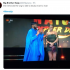 The former Big Brother Naija housemate who was just evicted in the last night's eviction show removes her wig on stage while talking to the host, Ebuka.