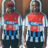 Nigerian football legend, Nwankwo Kanu took to his social media pages to show this special jersey featuring all the clubs he played for including Arsenal, Portsmouth, Ajax, Inter Milan, and West Brom. The 44-year-old football Icon retired from football in June 2011.