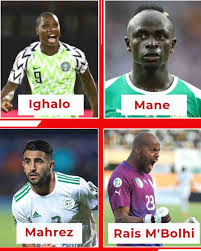 Super Eagles forward, Odion Ighalo, has made the CAF Best XI, following the conclusion of the 2019 Africa Cup of Nations in Egypt.  Ighalo netted five times to clinch the Golden Boot award and is the only Nigerian player included.  Algeria's goalkeeper, Rais M'Bolhi, who conceded two goals is also on the list.  The other players selected are defenders: Lamine Gassama (Senegal), Yassine Meriah (Tunisia), Youssouf Sabaly (Senegal) and Kalidou Koulibaly (Senegal).  In the midfield are: Adlene Guediora (Algeria), Idrissa Gana Gueye (Senegal) and Ismael Bennacer (Algeria). The forwards are: Riyad Mahrez (Algeria), Sadio Mane (Senegal).  The winning coach, Algeria's Djamel Belmadi is assigned as the coach.  Full Squad  Goalkeeper: Rais M'Bolhi (Algeria)  Defenders: Lamine Gassama (Senegal), Yassine Meriah (Tunisia), Youssouf Sabaly (Senegal), Kalidou Koulibaly (Senegal),  Midfielders: Adlene Guediora (Algeria), Idrissa Gana Gueye (Senegal), Ismael Bennacer (Algeria) Forwards: Riyad Mahrez (Algeria), Sadio Mane (Senegal), Odion Jude Ighalo (Nigeria) Coach: Djamel Belmadi (Algeria).  Source:- Dailypostng