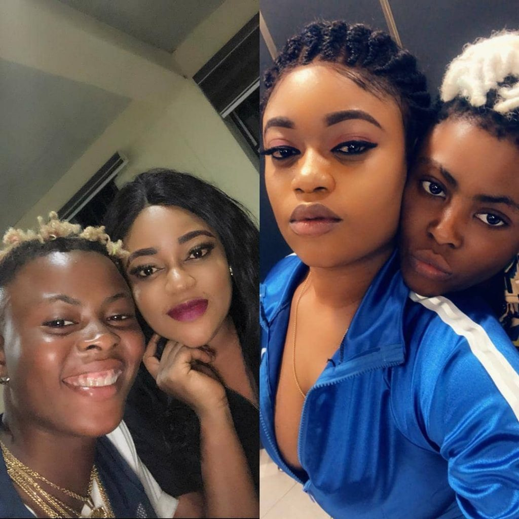 "The Owo Osu crooner, and rapper ""Candy Bleakz"" took to instagram to celebrate her female lover ""Victoria Kolawole"""