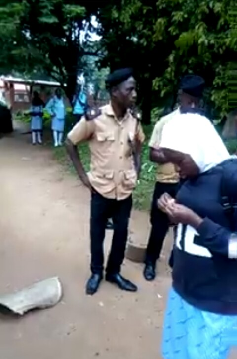 """A parent, Dr. Idris Olabode Badiru, on Thursday, raised the alarm over what he termed as molestation and inhuman treatment of his daughter, Ikhlas Badiru, by the Principal of International School, Univerity of Ibadan, Mrs. Phebean Olowe, the School Accountant identified as Mr. Odewale and other staff of the school.  Badiru, who has two children, a male and female that are currently attending the school, raised this alarm via a """"save our soul"""" message.  Recall that the use of Hijab has since November 2018 has been generating a lot of controversies, which made parents of some Muslim students to jointly sue the school, its principal, University of Ibadan and Chairman of the Board of Governors of the school who also doubled as Deputy Vice-Chancellor of the university.  Badiru said, """"Earlier this week, my children (a girl and a boy) informed me of ISI principal's decision to prevent students of the school from wearing any adornment on the school uniform inside and outside the school premises. I found the outside part absurd and downplayed the information.  """"On Wednesday, 3rd July 2019, I took my children to school and noticed a small crowd of students gathered about 80 metres or thereabout away from the school gate. My children promptly informed me that the accounts section was checking payment clearance before allowing them in.  """"The security man and Mr. Odewale of the accounts section were issuing some instructions. I then moved closer and learnt that they wanted my daughter to remove her Hijab before walking down towards the gate and she refused. I felt enraged as any reasonable man would when his daughter's honour is violated. Moreover, that space belongs to University of Ibadan, a Federal institution. That was Mr. Odewale's second time of harassing my daughter over the use of the Hijab.  """"At the close of work on Wednesday, I picked my children from the school and was reliably informed that the Principal, Mrs. Olowe went to my daughter's class to embarrass her during"""