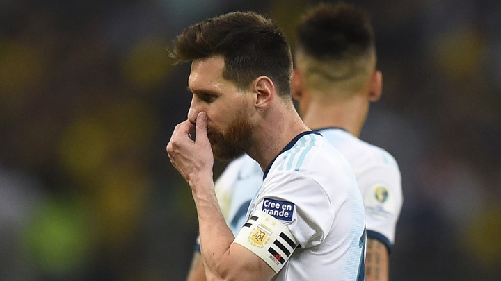 Leo Messi accused the organisers and referees at the Copa América of corruption when he spoke in the mixed zone after Argentina beat Chile 2-1 to take third place in the tournament being held in Brazil.