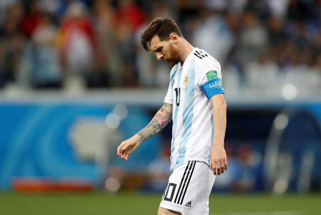 Lionel Messi has been banned from Argentina's World Cup first qualifying match for 2022 by the CONMEBOL.The Argentine forward was subsequently fined $1,500 (£1,200) by South American soccer's governing body for his attitude against a Chilean defender Gary Medel in their third-place match. Messi was shown a red card in the tournament after clashing with Medel who was also dismissed.The South American football governing body made no reference to criticism made by Messi after he blasted the tournament of being corrupt and that Argentina had been harshly treated.Messi later apologised to the organisation for his comments. Source:- FCNaija