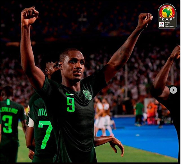 Super Eagles striker, Odion Ighalo has confirmed his retirement from international football with Nigeria after winning the 2019 Africa Cup of Nations (AFCON) Golden Boot last night.
