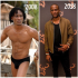 BBNaija 2019:- Omashola's 2008 Vs 2018 Photos Big Brother Naija housemate, Omashola wore only pant in his throwback picture in 2008…